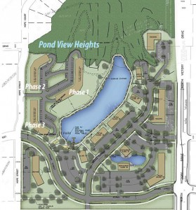 Pond View Heights Layout