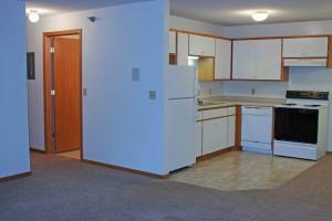 Lormar kitchen-hallway