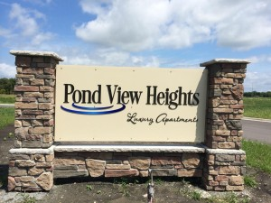ad 1_Pond view sign