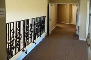 ad 25__Second floor railing
