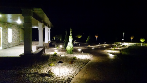ad 9_night back lighting porch view